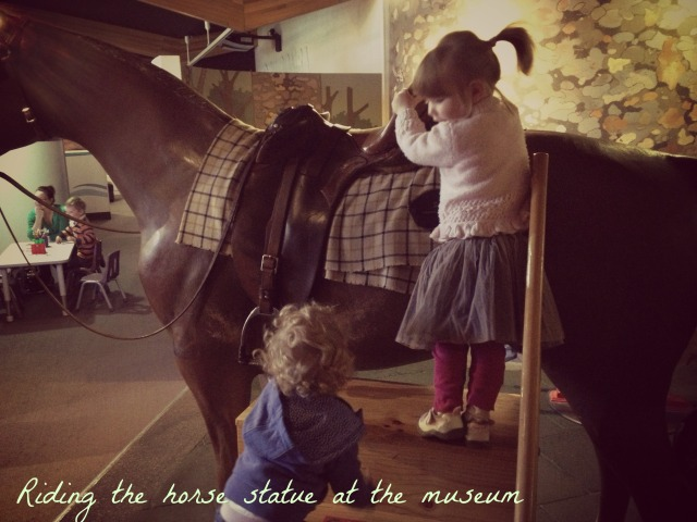 1 Museum horse