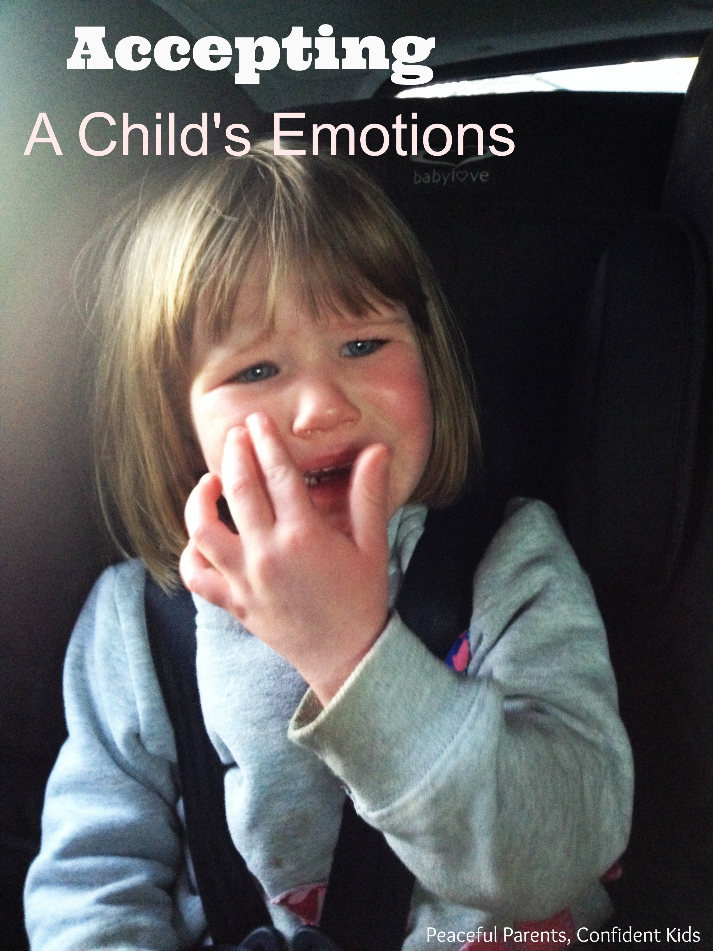 Creating Bonds: Accepting A Child's Emotions