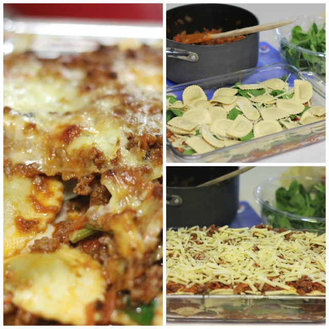 Baked Ravioli (Cheats Lasagne) ~ Peaceful Parents, Confident Kids